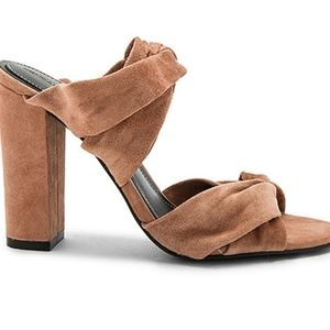 Kendall and Kylie NWOT heeled mules size 8.5